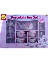 Porcelain Tea Set 13 Pieces