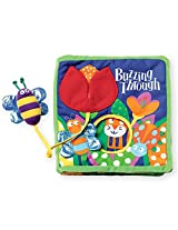 Manhattan Toy Soft Activity Book with Tethered Toy Buzzing Through