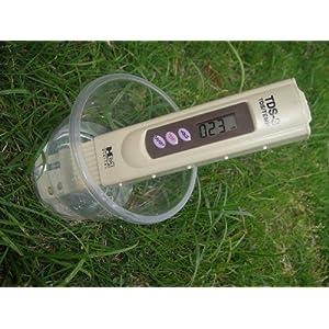 逆浸透膜浄水器専用TDSメーター放射能水質検査温度器機能付き