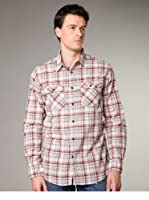 Jachs Camisa  Regular Fit (Crema / Rosa)