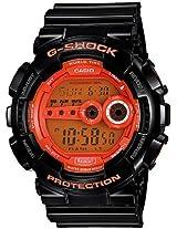 Casio G-Shock Stopwatch Digital Orange Dial Men's Watch - GD-100HC-1DR (G335)