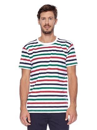 Redgreen Camiseta Care (Blanco / Verde / Rojo)