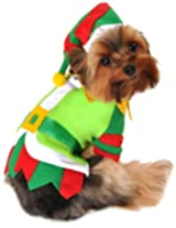 Anit Accessories 20-Inch Santa's Lil' Helper Dog Costume, Large