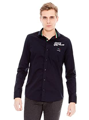 Unitryb Camisa Lisa (Marino)