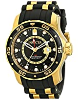 Invicta Pro-Diver Analog Black Dial Men's Watch - 6991
