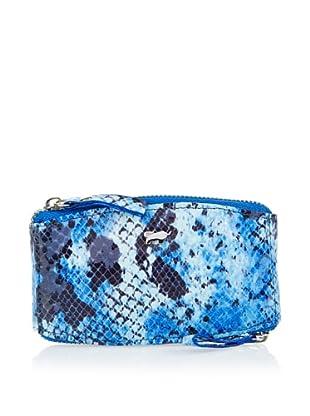 Braun Büffel Schlüsseletui (Blau)