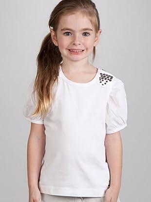 Ikks Camiseta Tachuelas (blanco)