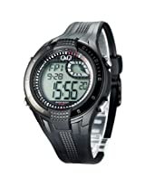 Q&Q Regular Analog-Digital Black Dial Men's Watch - M040-002