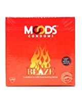 Moods Blaze Condoms, Unflavored 12 piece(s)/pack