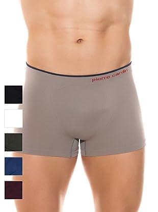 Pierre Cardin Pack 6 Boxer Caballero Básico (Multicolor Oscuros)