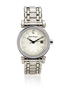 Salvatore Ferragamo Men's Salvatore Salvatore Silver Stainless Steel Watch