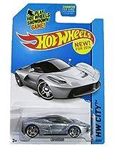 Mattel Hot Wheels 2014 Hw City 38/250 Speed Team Laferrari (Metallic Silver)