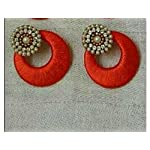 Red Traditional Earring