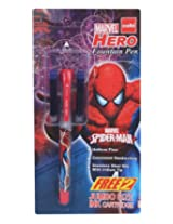 Cello - Marvel Hero Fountain Pen Blue With 2 Free Ink Cartridge (Pack of 2)