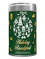 Holiday Breakfast - Loose Leaf Tea Samplers - 5 TEAS - Exclusive Tea Gifts Set - 25 Servings - Perfect Holiday Christmas Gift Box
