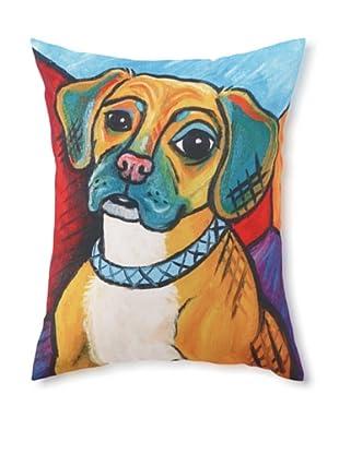 Pawcasso Puggle Pillow