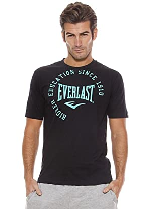 Everlast Camiseta Rain (Negro / Verde Agua)