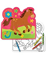 Stephen Joseph Play and Craft Puzzle, Horse