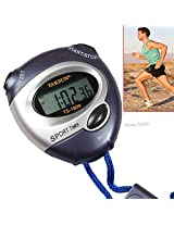 Running Handheld LCD Digital Professional Timer Sports STOPWATCH Watch-TS-1809