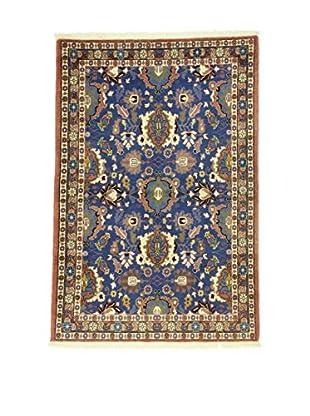 L'Eden del Tappeto Teppich Varamin blau/mehrfarbig 154t x t103 cm