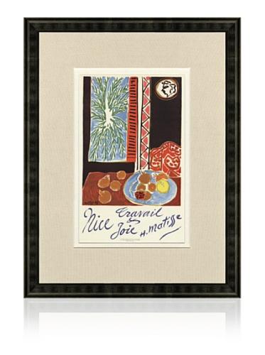 Henri Matisse Nice Travail & Joie, 1959, 16
