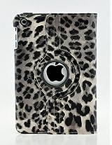 iPad Air 2 Case, LiViTech(TM) Leopard Air 2 Design Series 360 Degree Rotating PU Leather Case Cover for Apple iPad Air 2 (Gray)