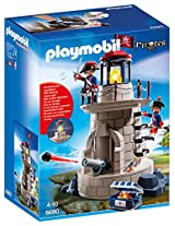 Playmobil Soldiers Lookout With Beacon Playset