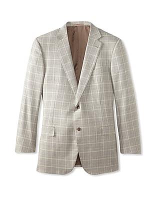 Ermenegildo Zegna Men's Sport Coat (Cream Plaid)
