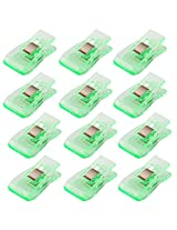Imported 50 Pcs Wonder Clips for Crafts Hobbies Quilting Sewing Clips Green
