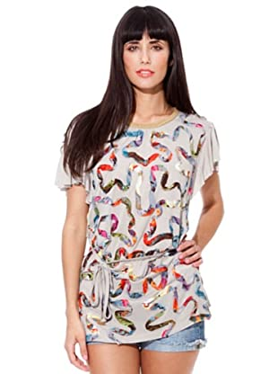 Peace & Love Camiseta Adornos (piedra)