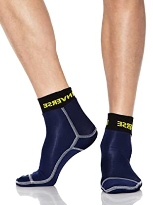Inverse Calcetines Gold (Azul)