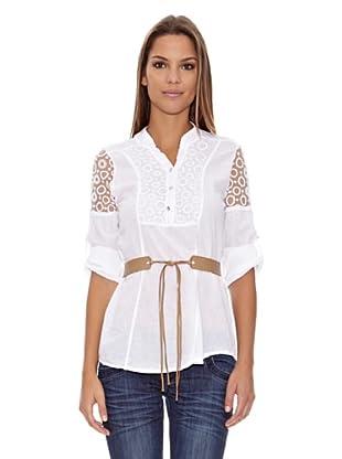 Assuili Camisa Túnica (Blanco)