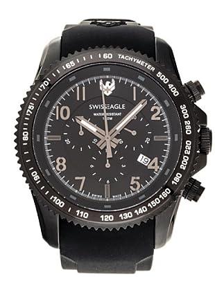 Swiss Eagle Reloj Field Landmaster negro