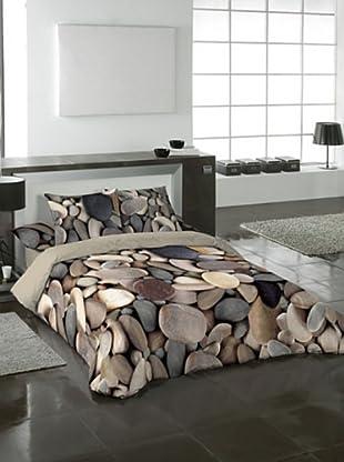Naturals Juego de Funda Nórdica Stones (Multicolor)