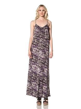 Parker Women's Long Cami Dress (Purple Peacock)
