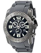 Swiss Legend Men's 10067-GM-01-GRYS Commander Analog Display Swiss Quartz Grey Watch