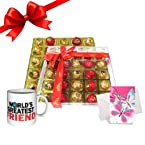 Chocholik's Perfect Combination of Chocolate Truffles With Mug and Love Card