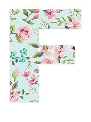 Letra Decorativa Letra F