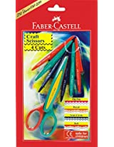 Faber-Castell Craft Scissor - Pack of 4