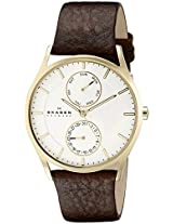 Skagen Holst Analog White Dial Men's Watch - SKW6066