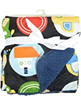 "Baby Bucket Carter Baby Blanket Jungle Animal Transport 30"" x 40"""