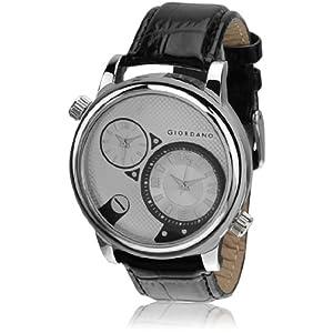 Giordano DTLM60058 Men's Analog Watch, Black