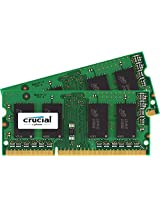 Crucial 4 GB DDR3 1600 MT/s (PC3 - 12800) CL11 SODIMM 204-Pin 1.35 V/1.5 V para Mac (CT2K8G3S160BM)