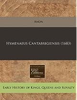 Hymenaeus Cantabrigiensis (1683)