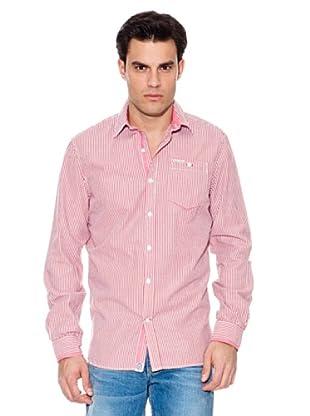 Pepe Jeans London Camisa Take (Rojo / Blanco)