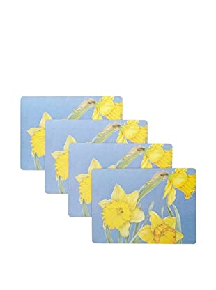 rockflowerpaper Set of 4 Dining Placemats (Daffodil)
