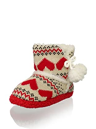 Gioseppo Kid's Parana Slipper Boot (Red)