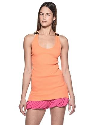 Crema Camiseta Abalorios (Naranja)
