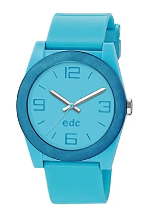 EDC Esprit Quarzuhr Pure Frame-Frosty Ee100892004 blau 38  mm