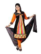 Cenizas embroidered Semi Stich Salwar Suit Duptta ( FSHN 555)